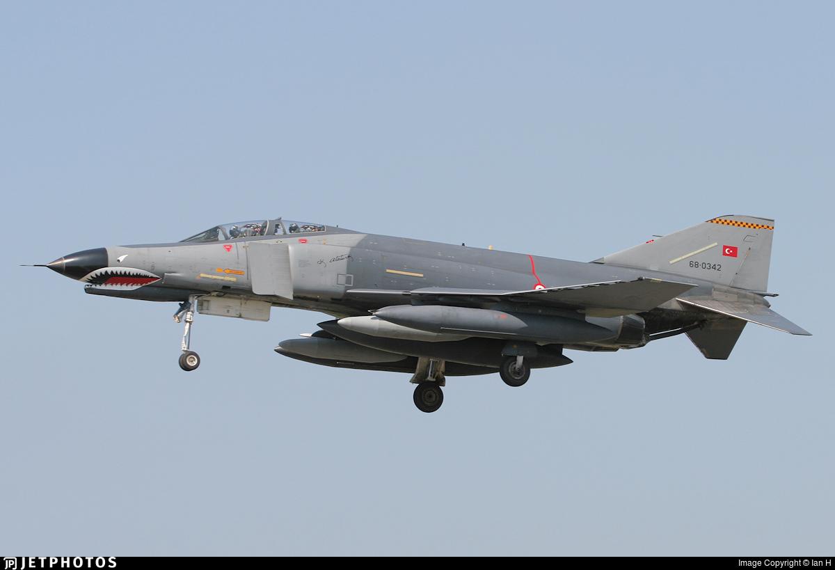 68-0342 - McDonnell Douglas F-4E Phantom II - Turkey - Air Force