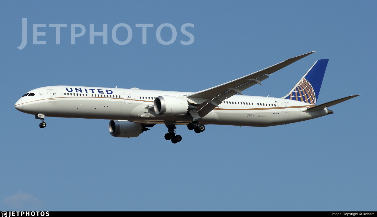 N16009 - Boeing 787-10 Dreamliner - United Airlines