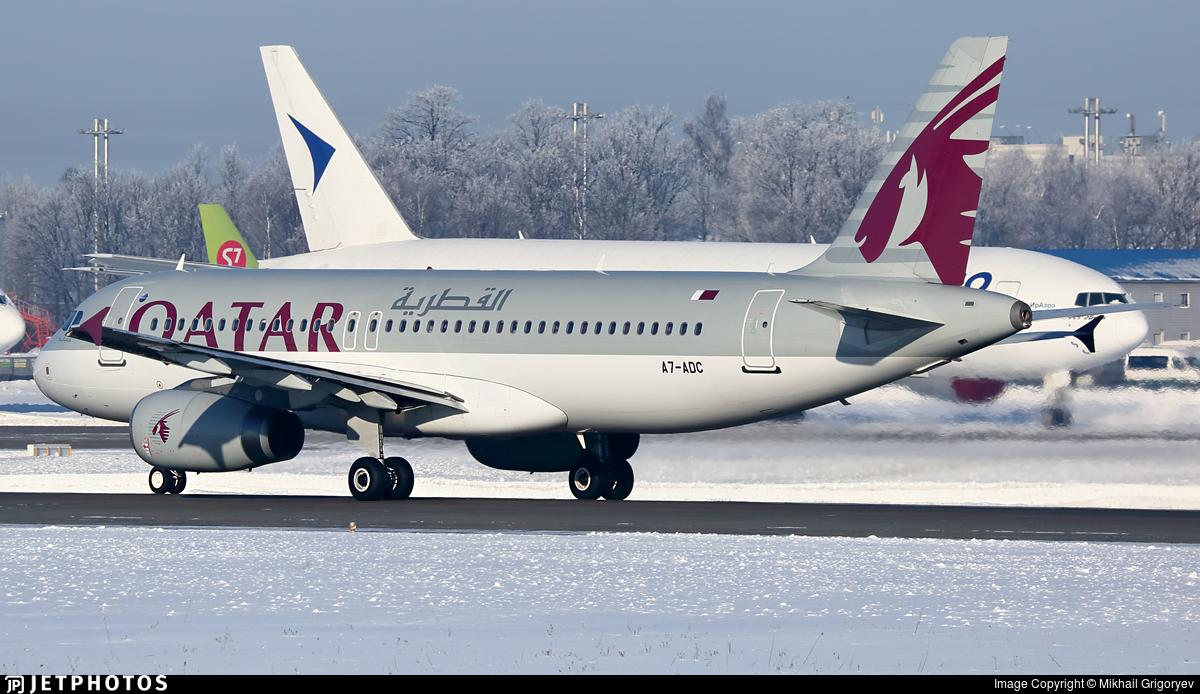 A7-ADC - Airbus A320-232 - Qatar Airways