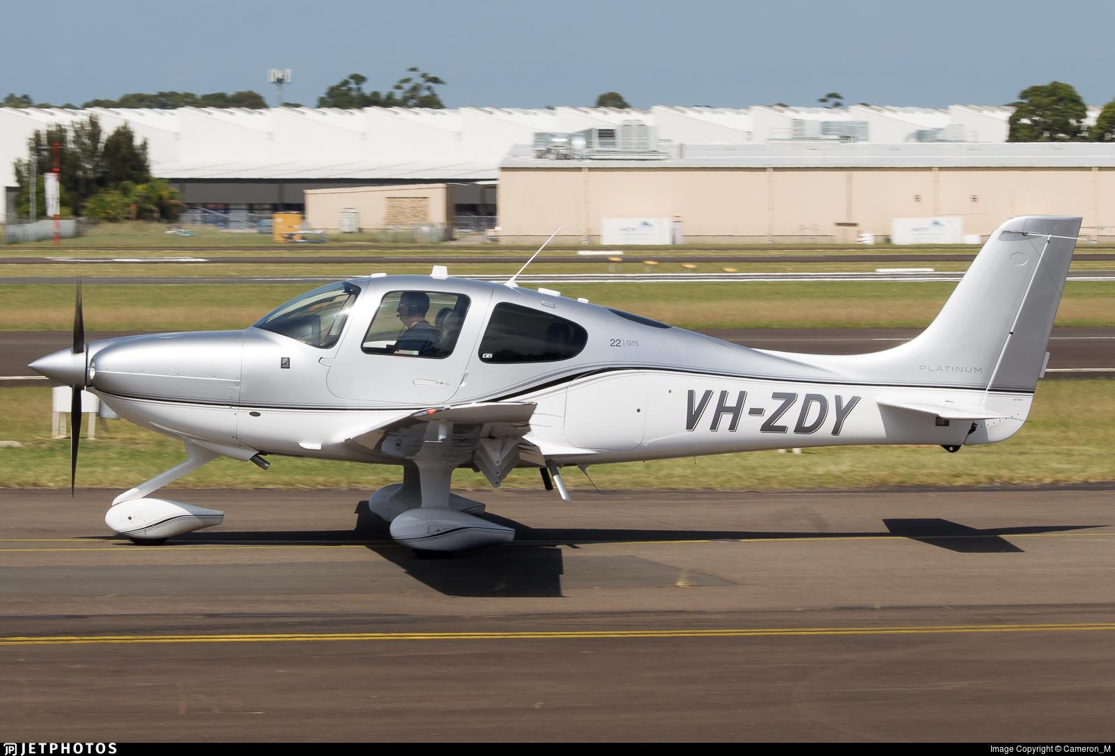 VH-ZDY - Cirrus SR22-GTS G6 Platinum - Molesworth Aviation
