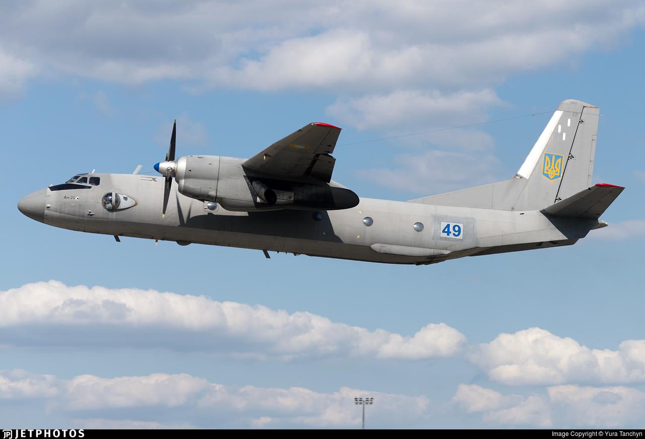 49 - Antonov An-26 - Ukraine - Air Force