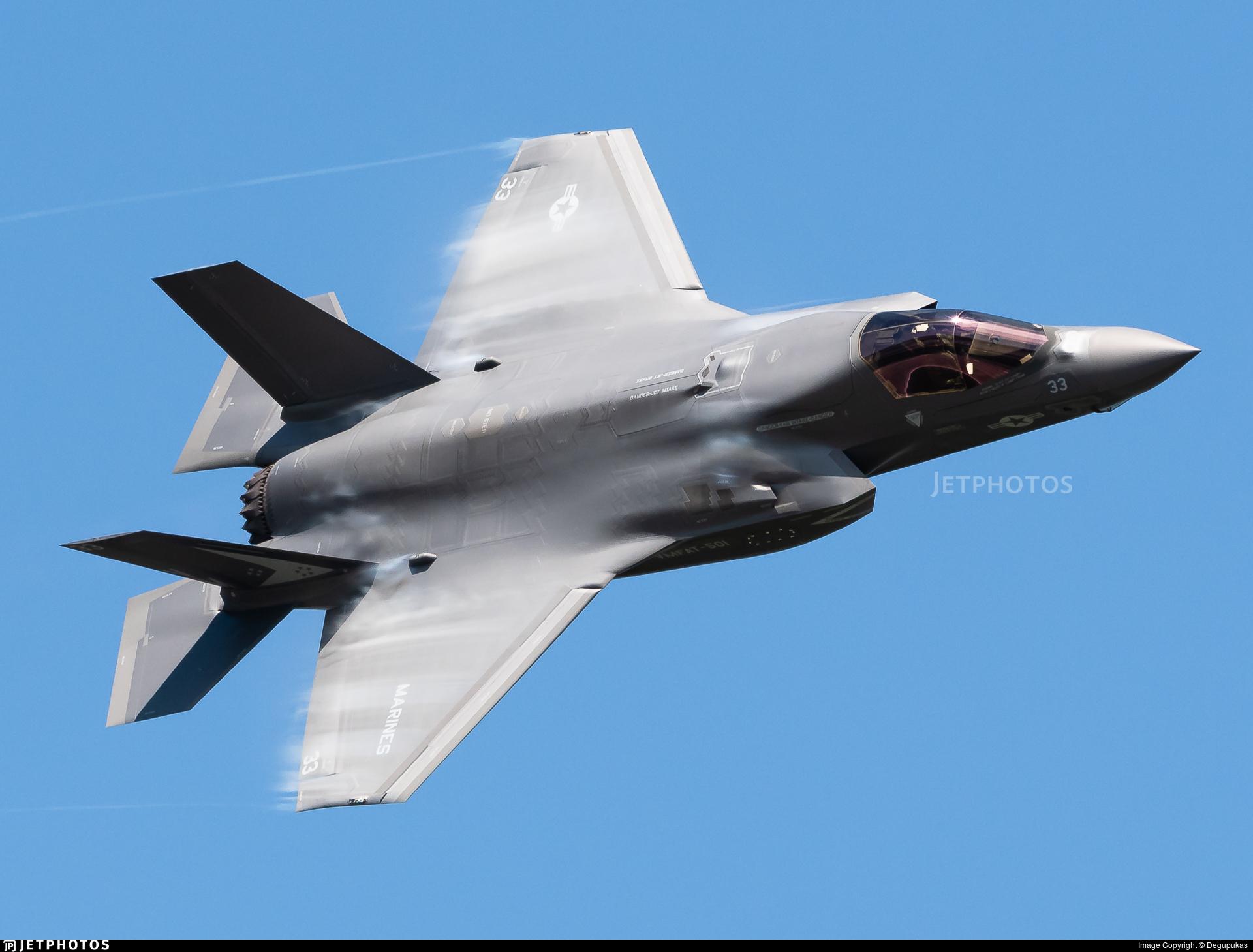 169594 - Lockheed Martin F-35B Lightning II - United States - US Marine Corps (USMC)