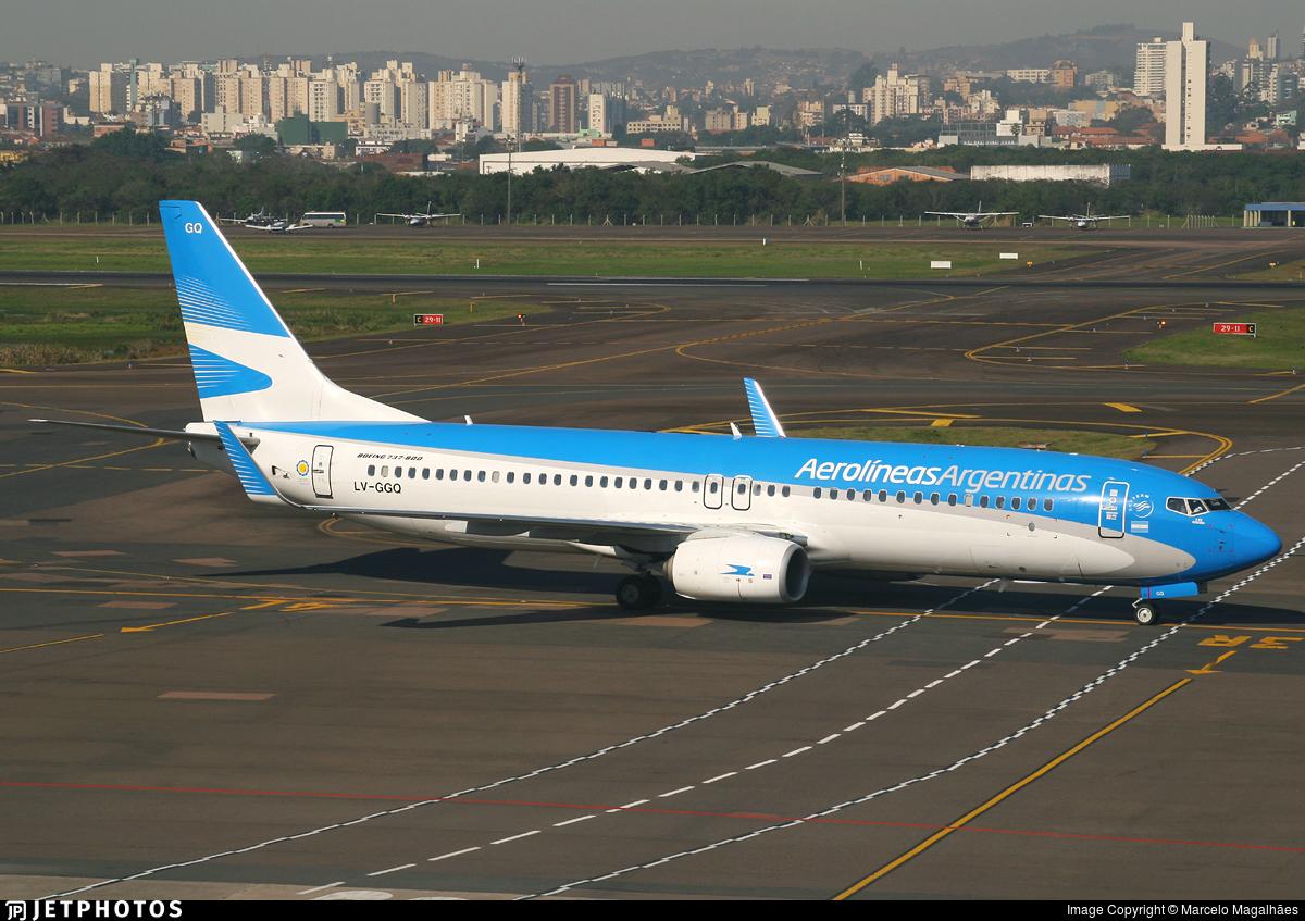 LV-GGQ - Boeing 737-8HX - Aerolíneas Argentinas
