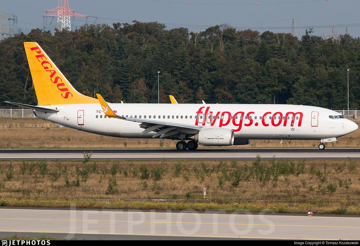 TC-CPF - Boeing 737-82R - Pegasus Airlines
