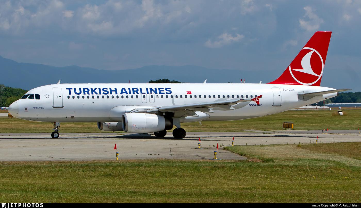 TC-JLK - Airbus A320-232 - Turkish Airlines