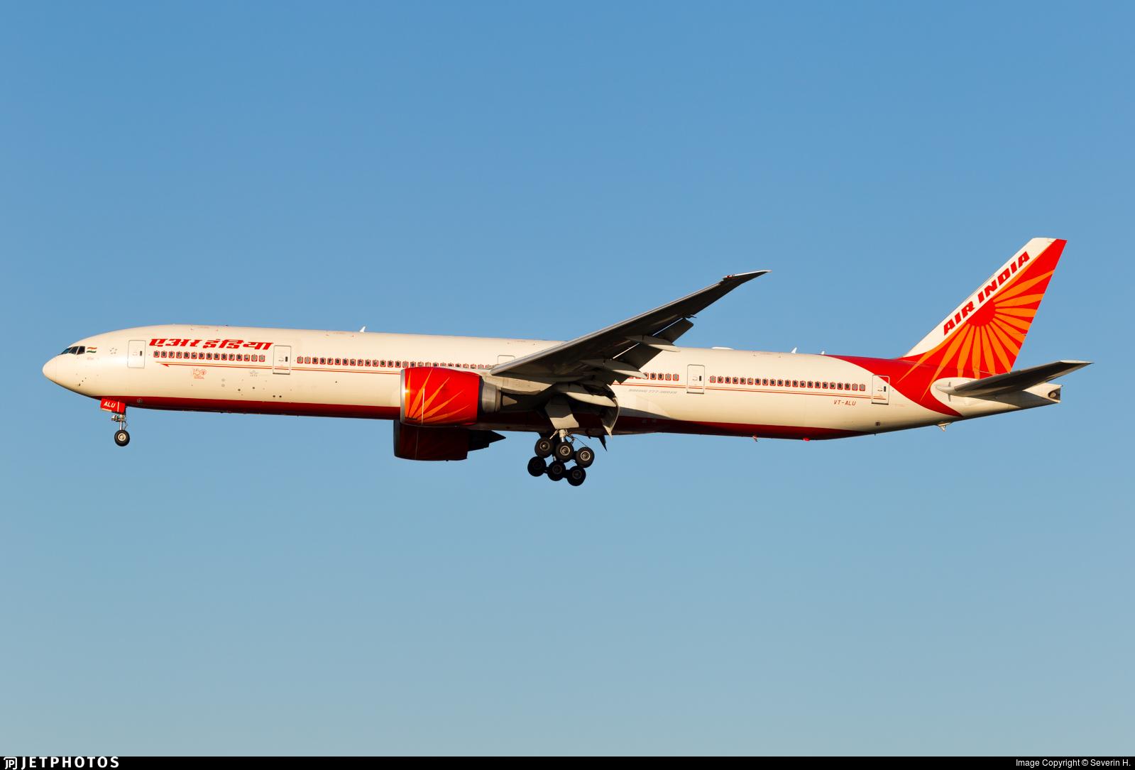 VT-ALU - Boeing 777-337ER - Air India