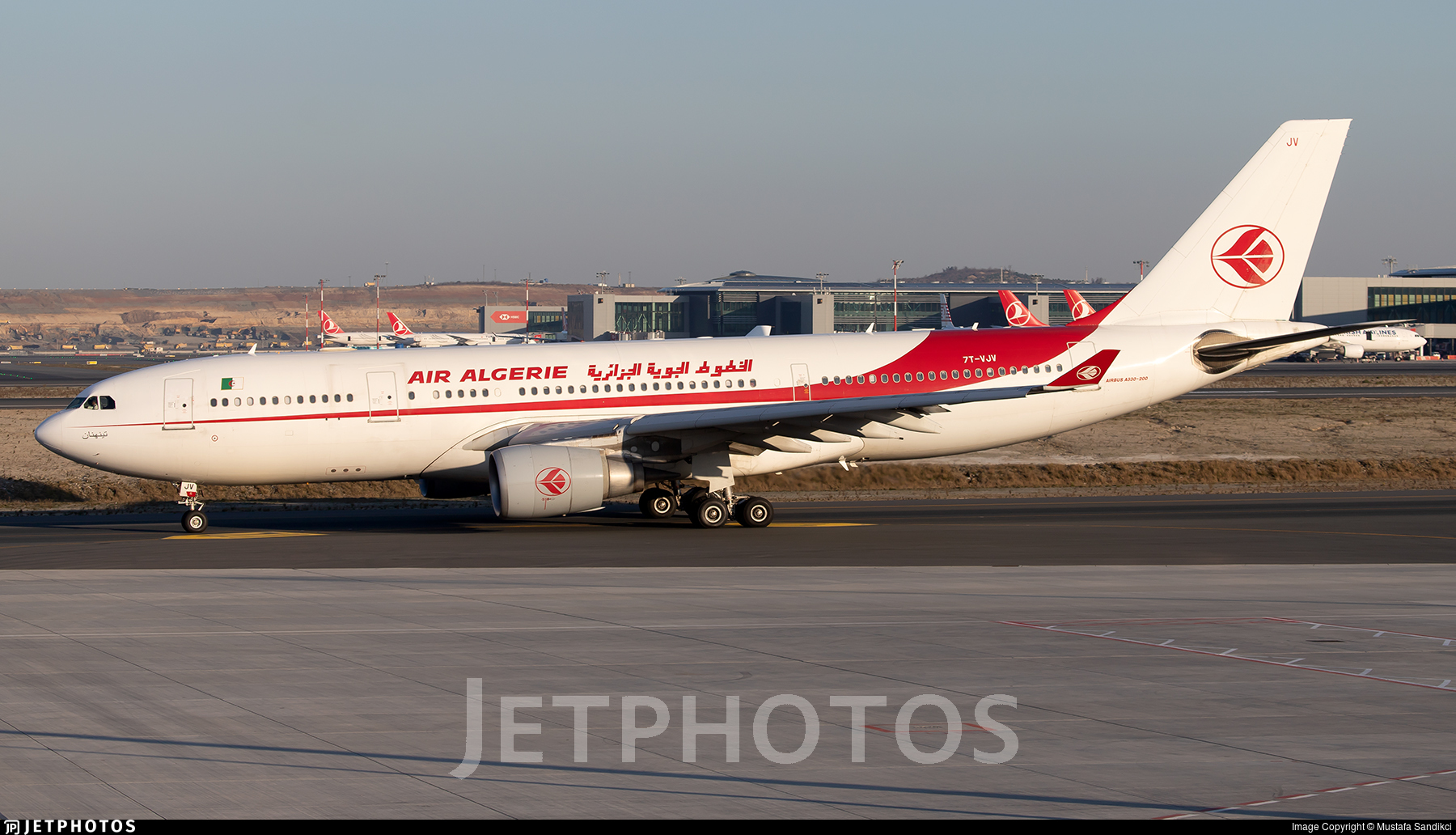7T-VJV - Airbus A330-202 - Air Algérie