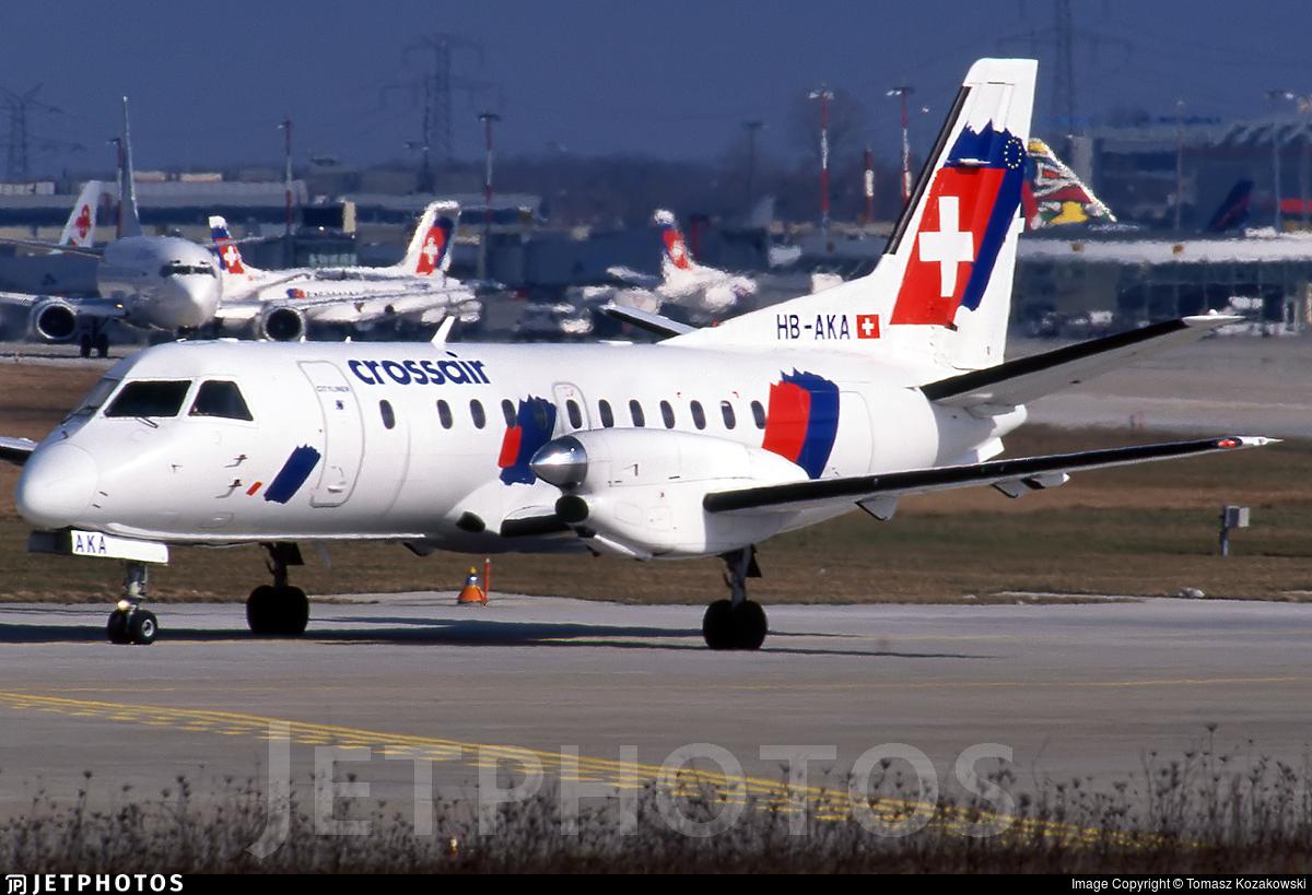 HB-AKA - Saab 340B - Crossair