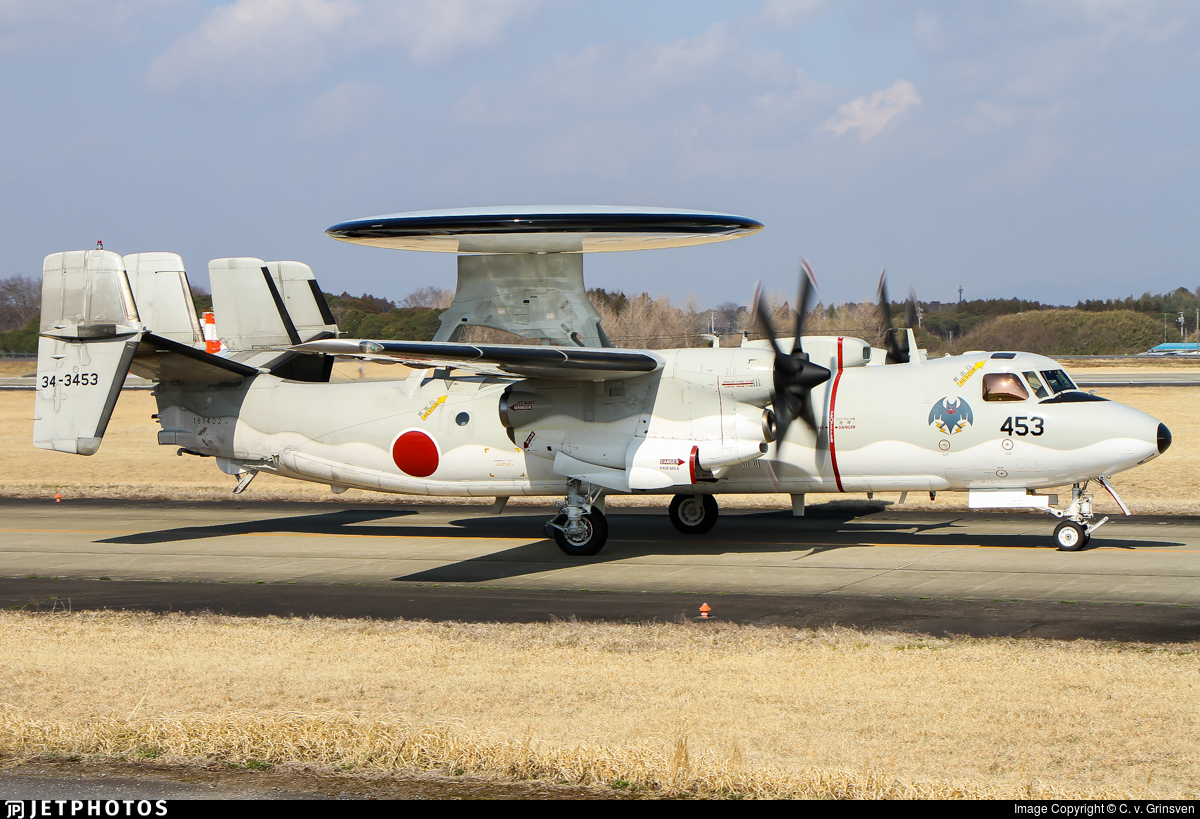 34-3453 - Grumman E-2C Hawkeye - Japan - Air Self Defence Force (JASDF)