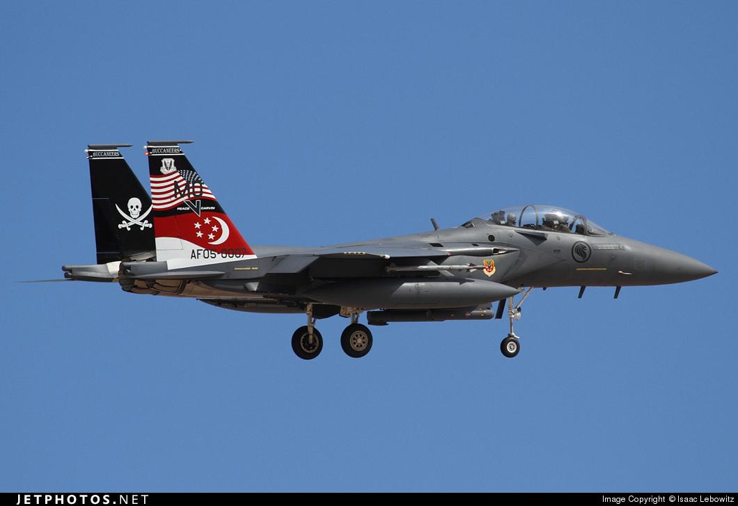 05-0007 - Boeing F-15SG Strike Eagle - Singapore - Air Force