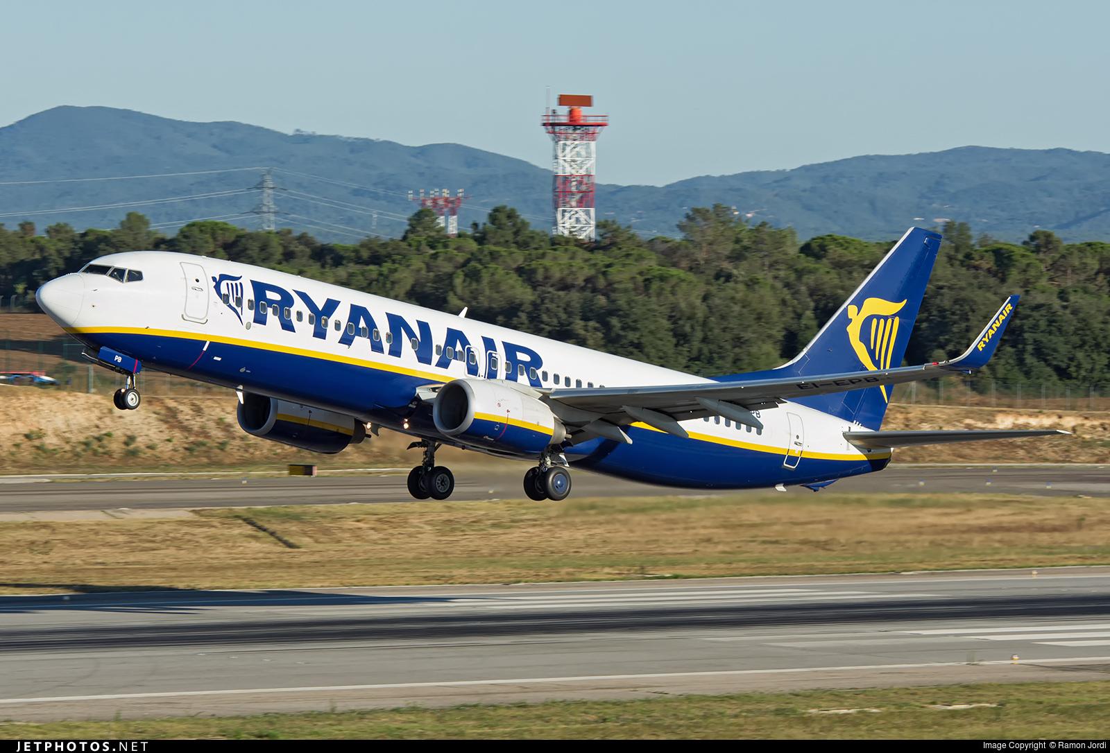 EI-EPB - Boeing 737-8AS - Ryanair