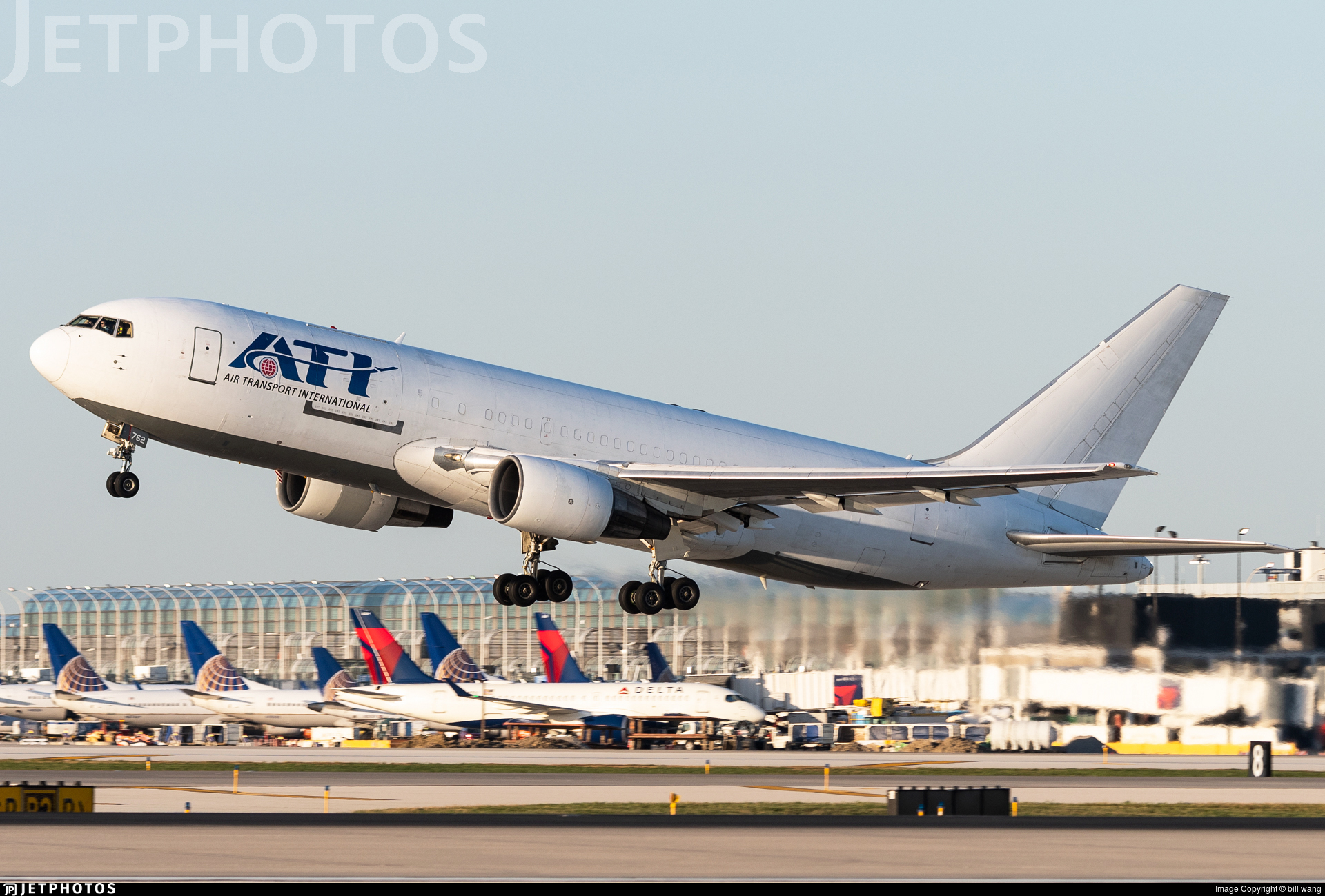 N762CX - Boeing 767-232(BDSF) - Air Transport International (ATI)