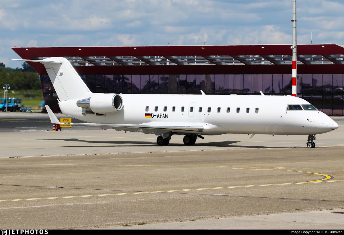 D-AFAN - Bombardier CL-600-2B19 Challenger 850 - FAI Rent-a-jet