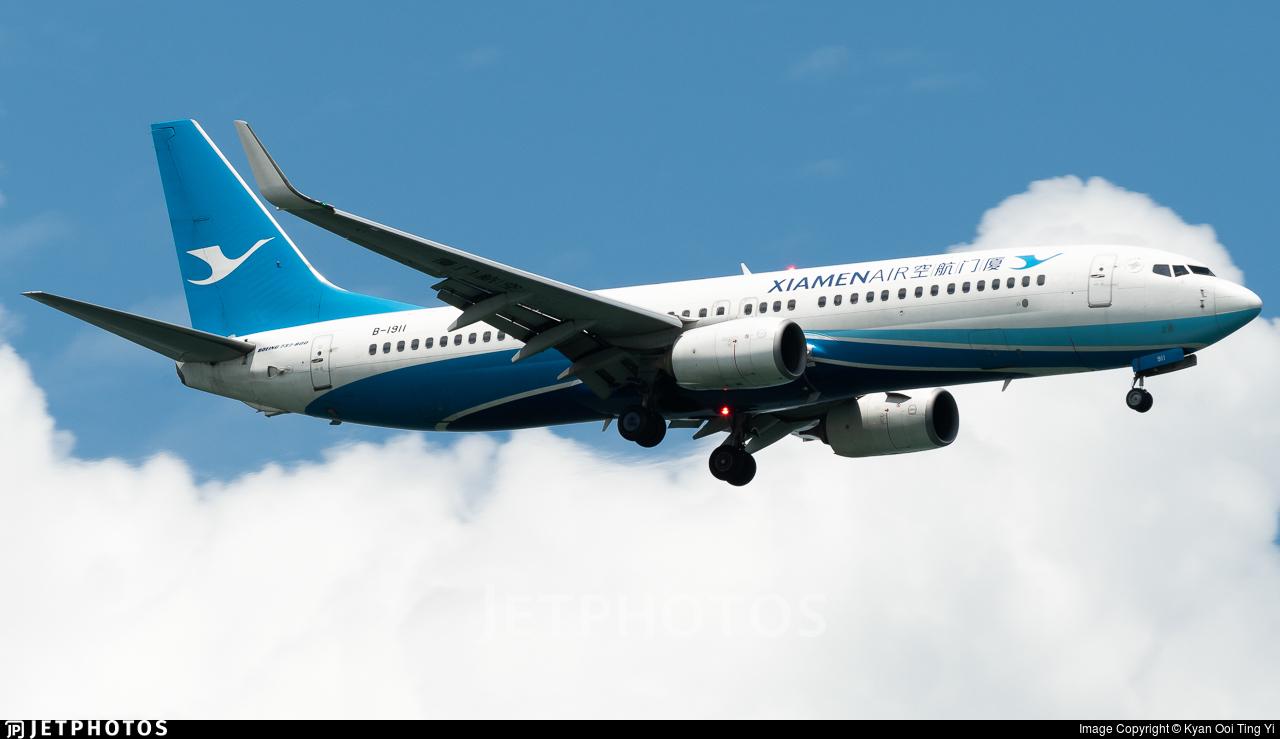 B-1911 - Boeing 737-85C - Xiamen Airlines
