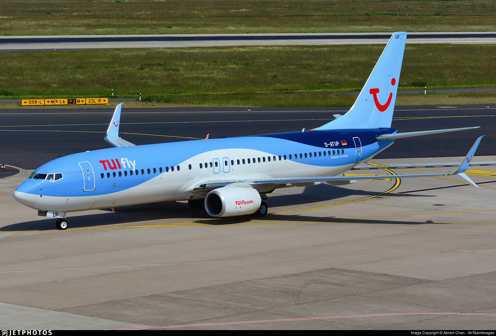 D-ATUP - Boeing 737-8K5 - TUIfly