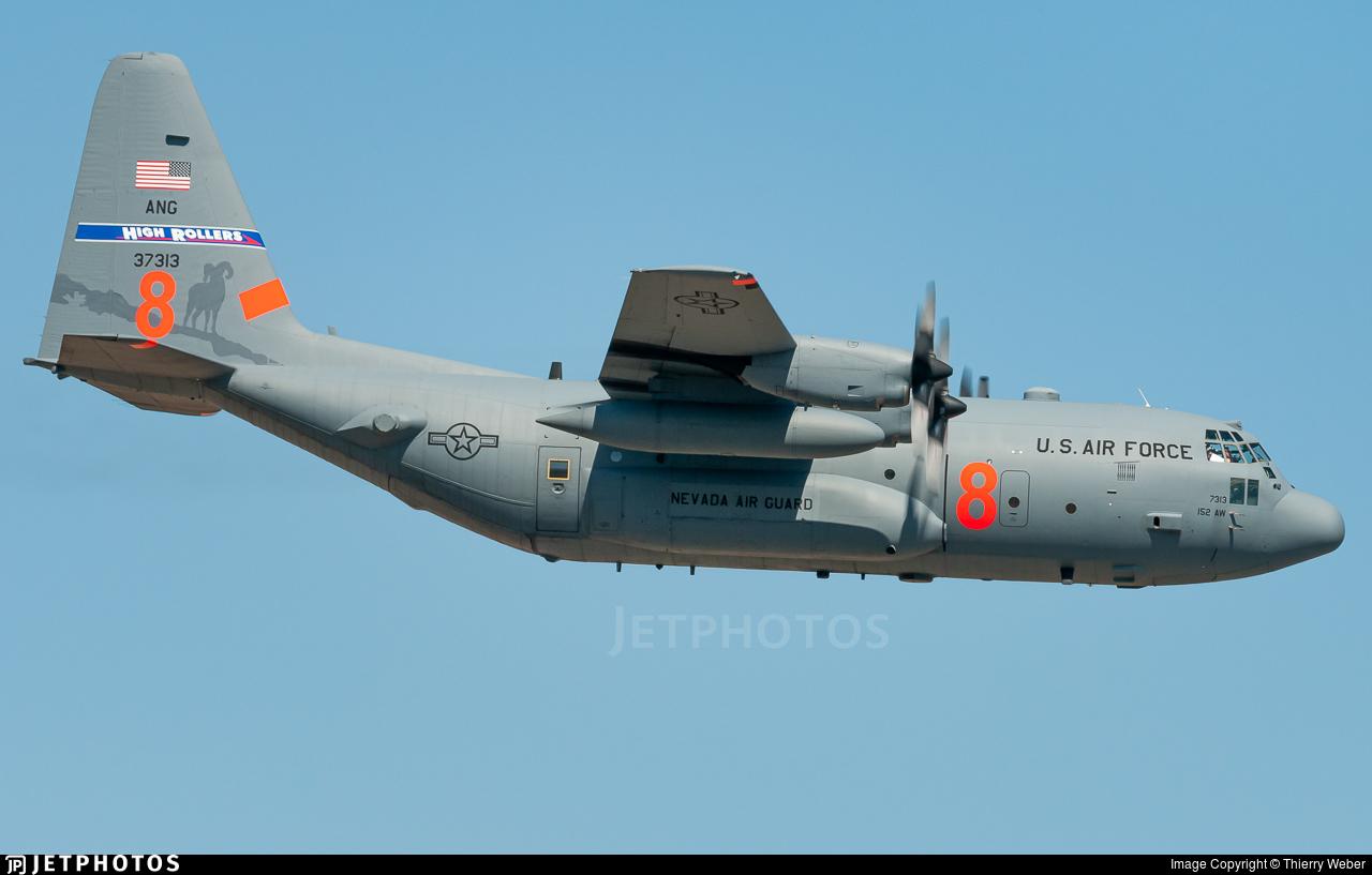 93-7313 - Lockheed C-130H Hercules - United States - US Air Force (USAF)