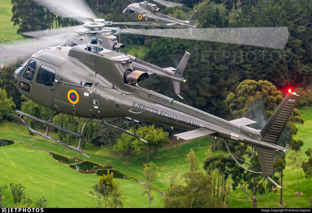 E-326 - Airbus Helicopters H125 - Ecuador - Army