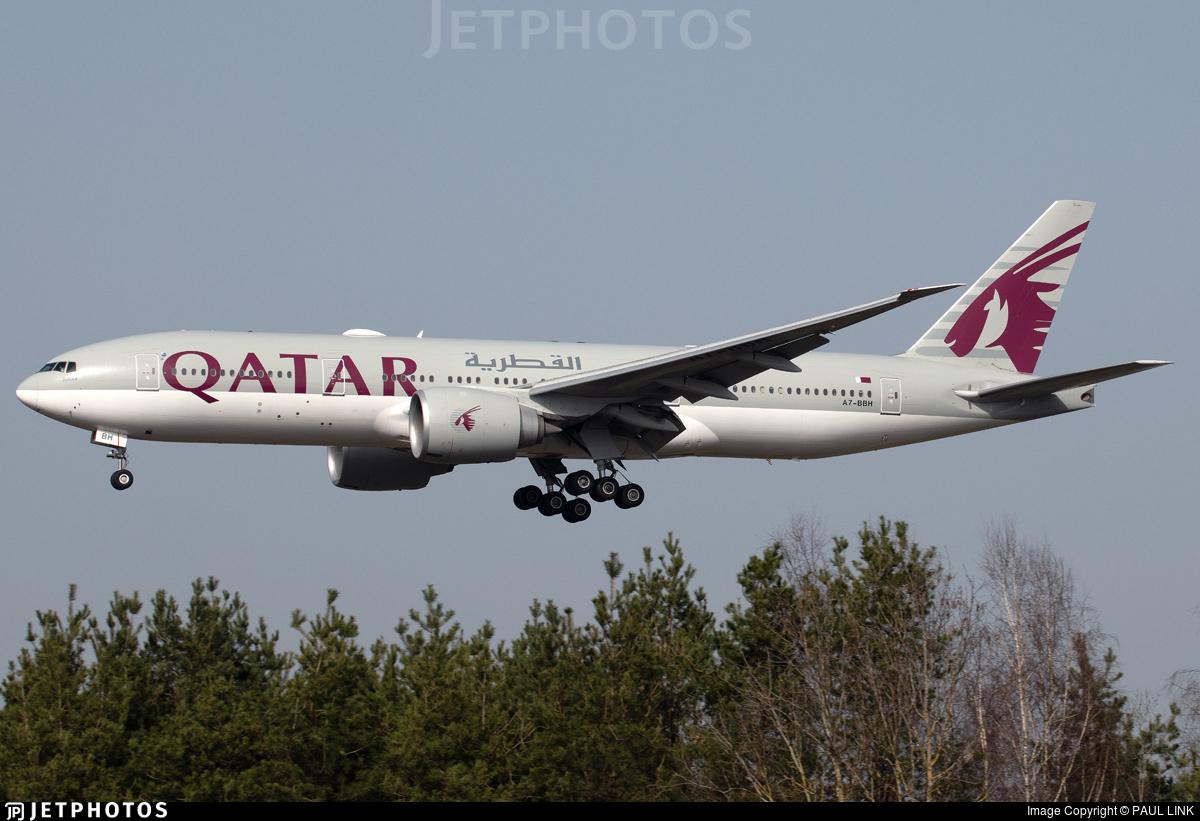 A7-BBH - Boeing 777-2DZLR - Qatar Airways