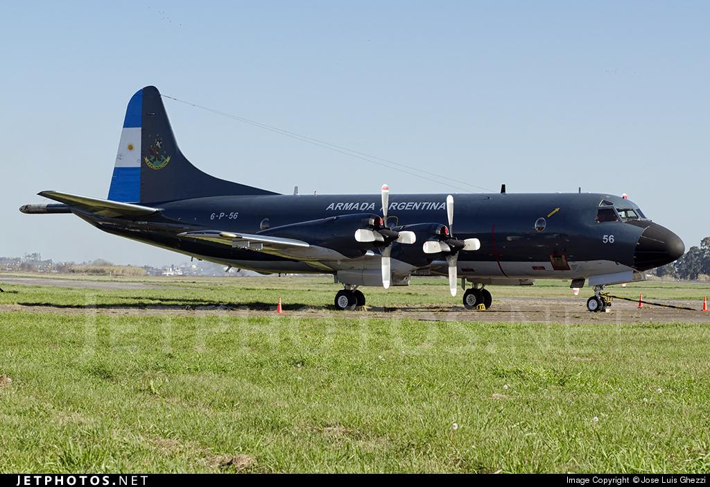 6-P-56 - Lockheed P-3B Orion - Argentina - Navy