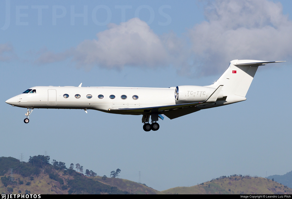 TC-TTC - Gulfstream G550 - Private