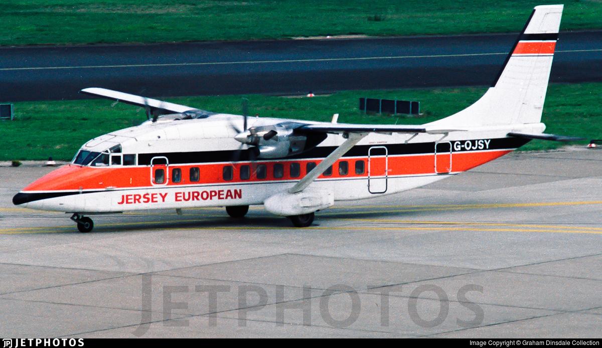 G-OJSY - Short 360-100 - Jersey European Airways