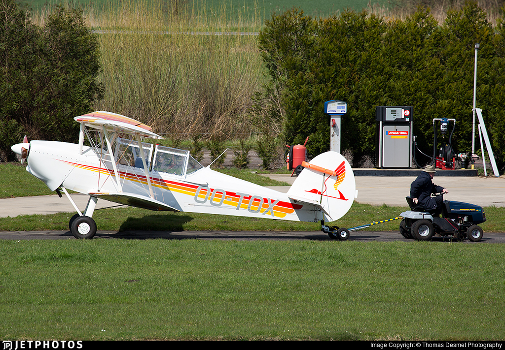 OO-TOX - SNCAN/Stampe SV.4C - Private