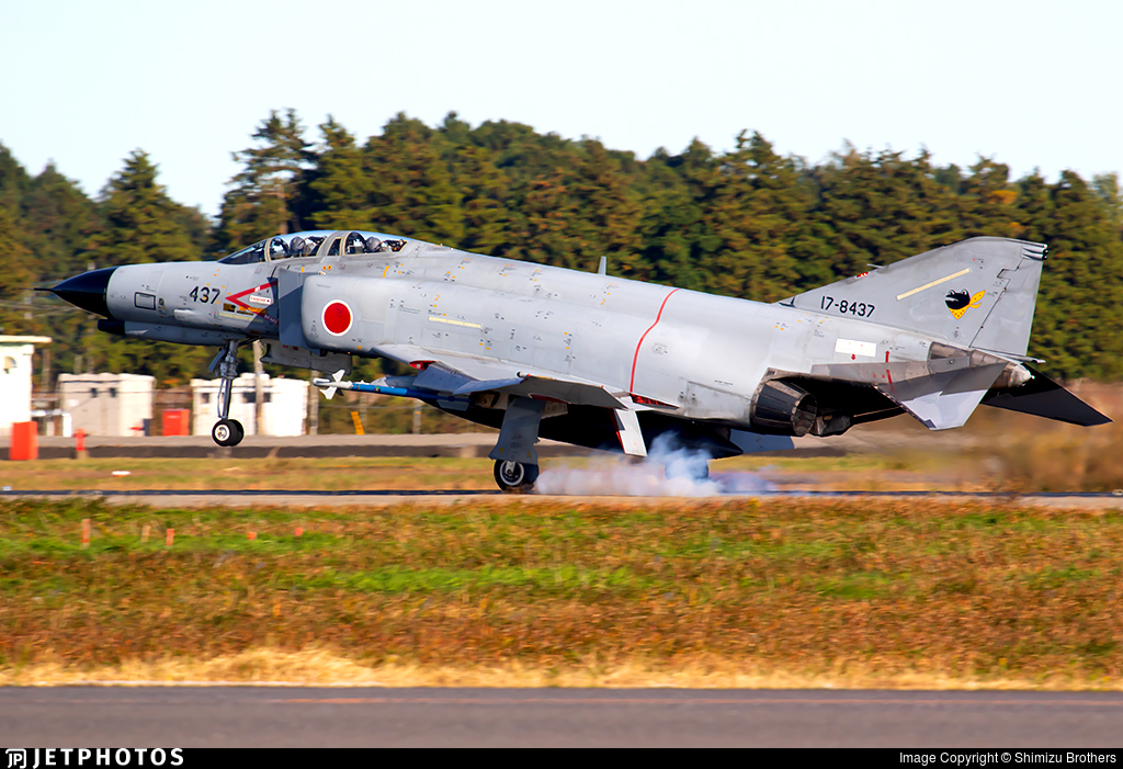 17-8437 - McDonnell Douglas F-4EJ Kai - Japan - Air Self Defence Force (JASDF)
