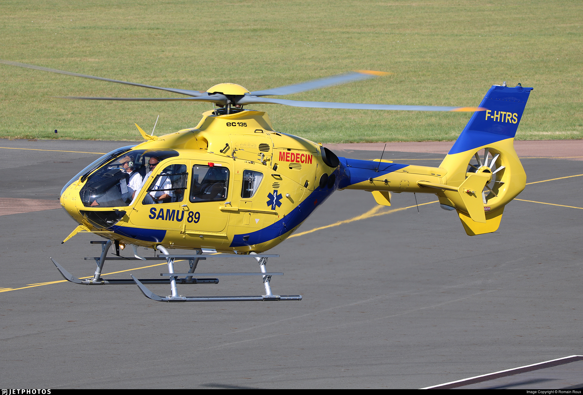 F-HTRS - Airbus Helicopters H135 - Babcock MCS France