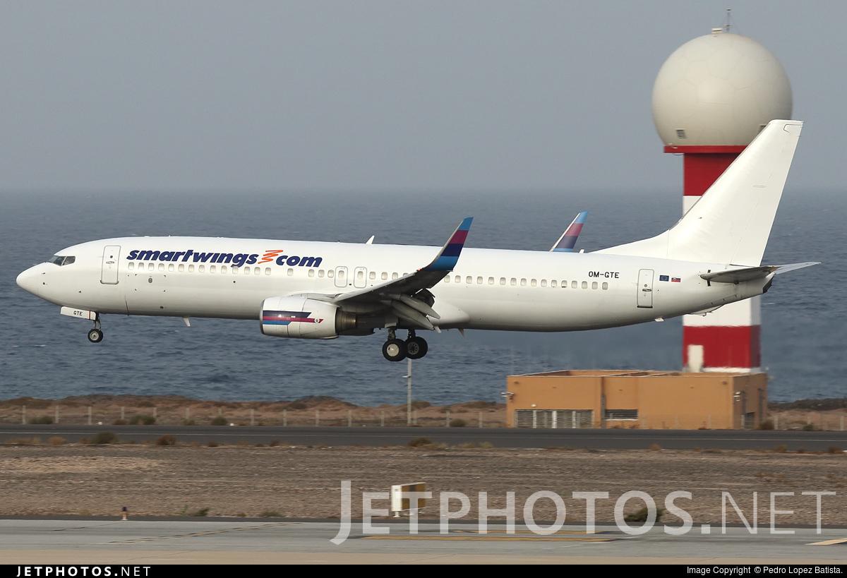 OM-GTE - Boeing 737-8AS - SmartWings (Go2Sky)