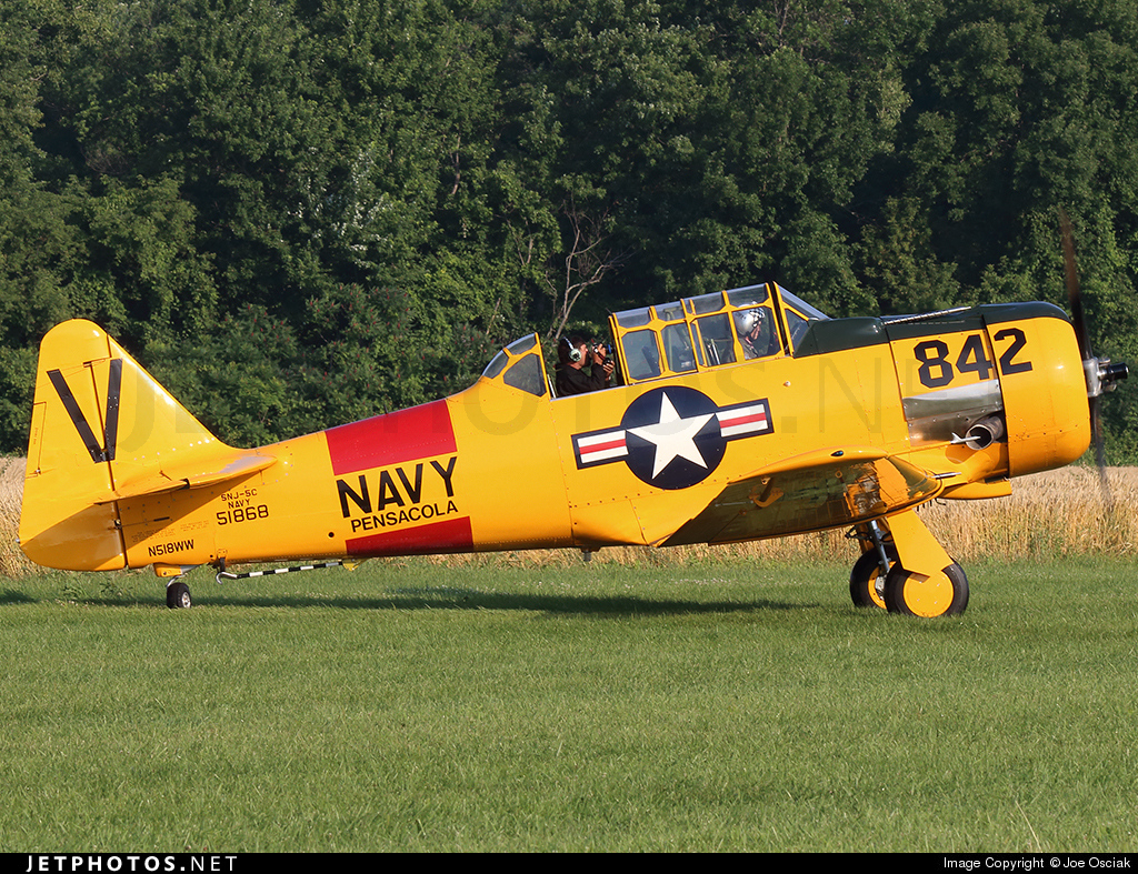 N518WW - North American SNJ-5C Texan - Private