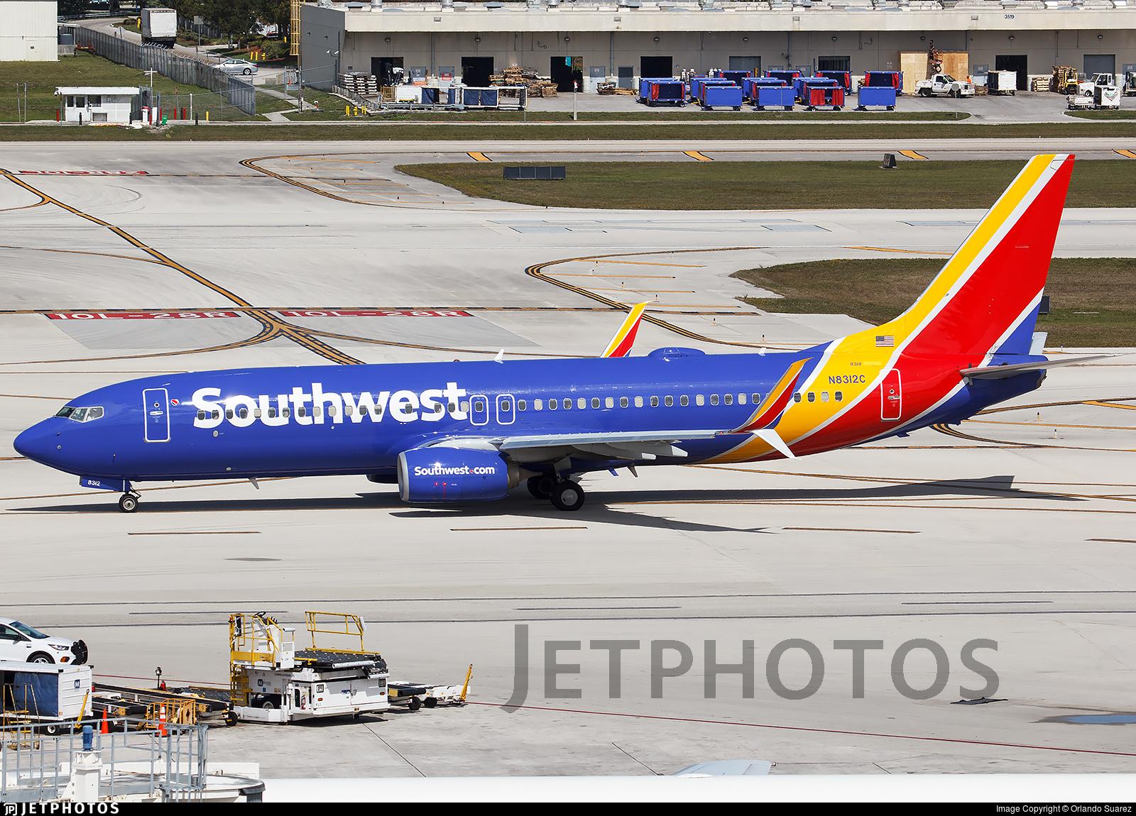 N8312C - Boeing 737-8H4 - Southwest Airlines