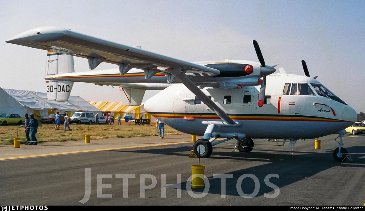 3D-DAC - IAI Arava 201 - Swaziland - Air Force