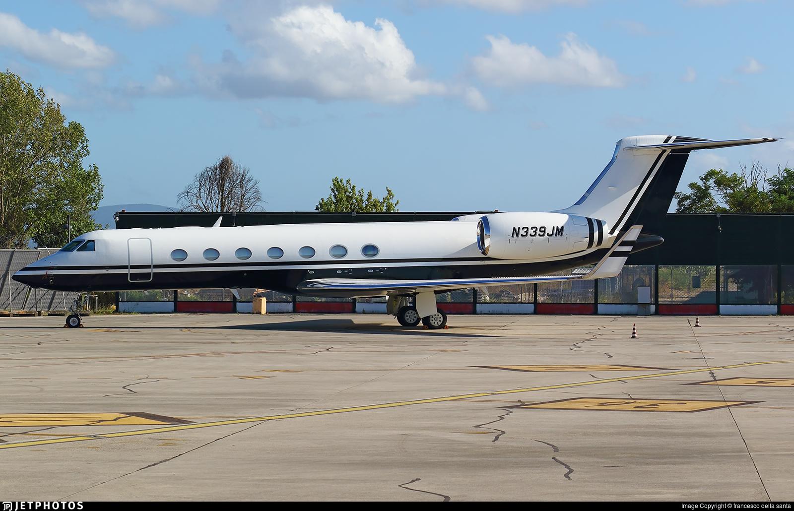 N339JM - Gulfstream G550 - Private