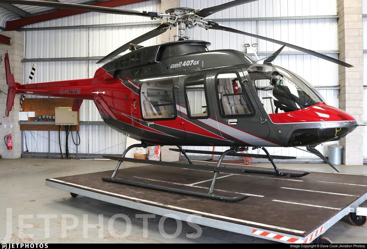 G-HUMM - Bell 407 - Century Aviation