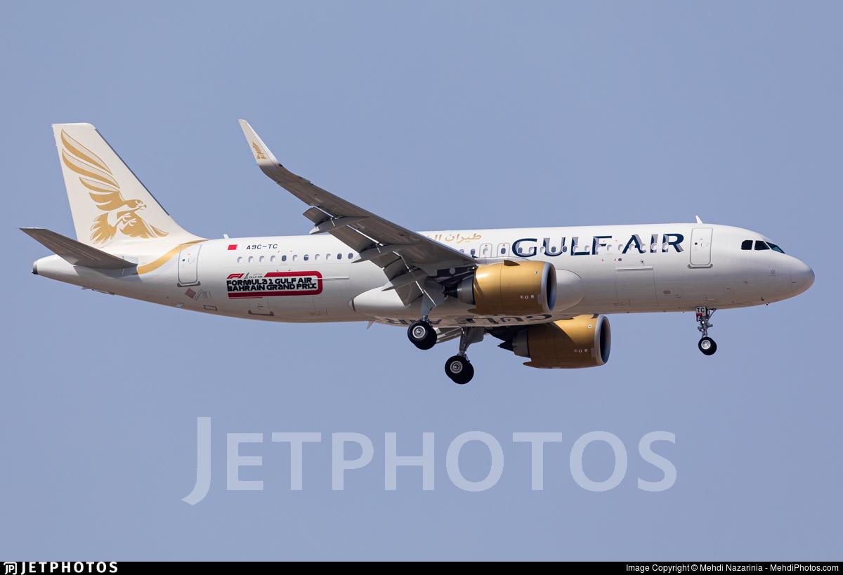A9C-TC - Airbus A320-251N - Gulf Air