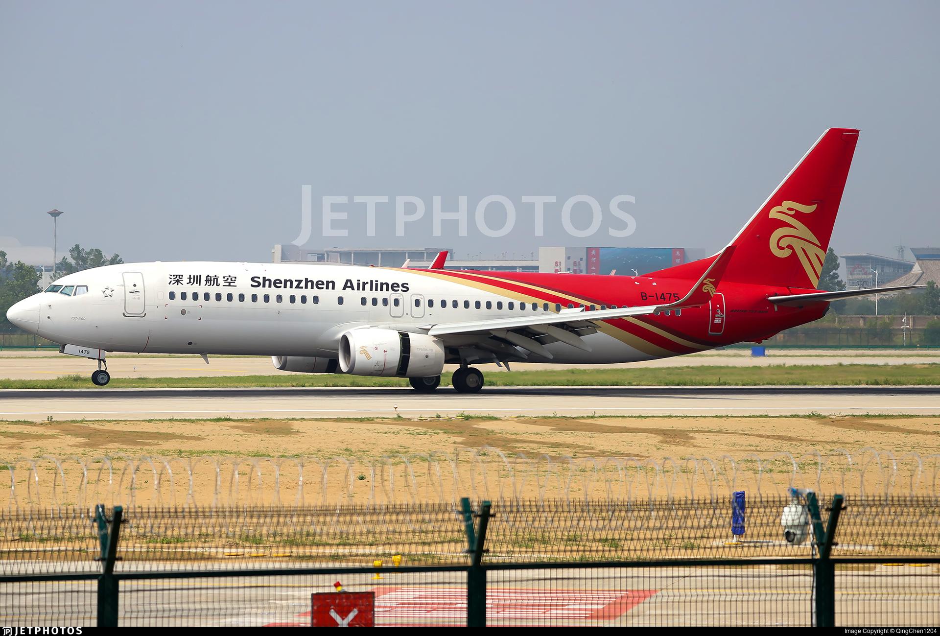 B-1475 - Boeing 737-87L - Shenzhen Airlines