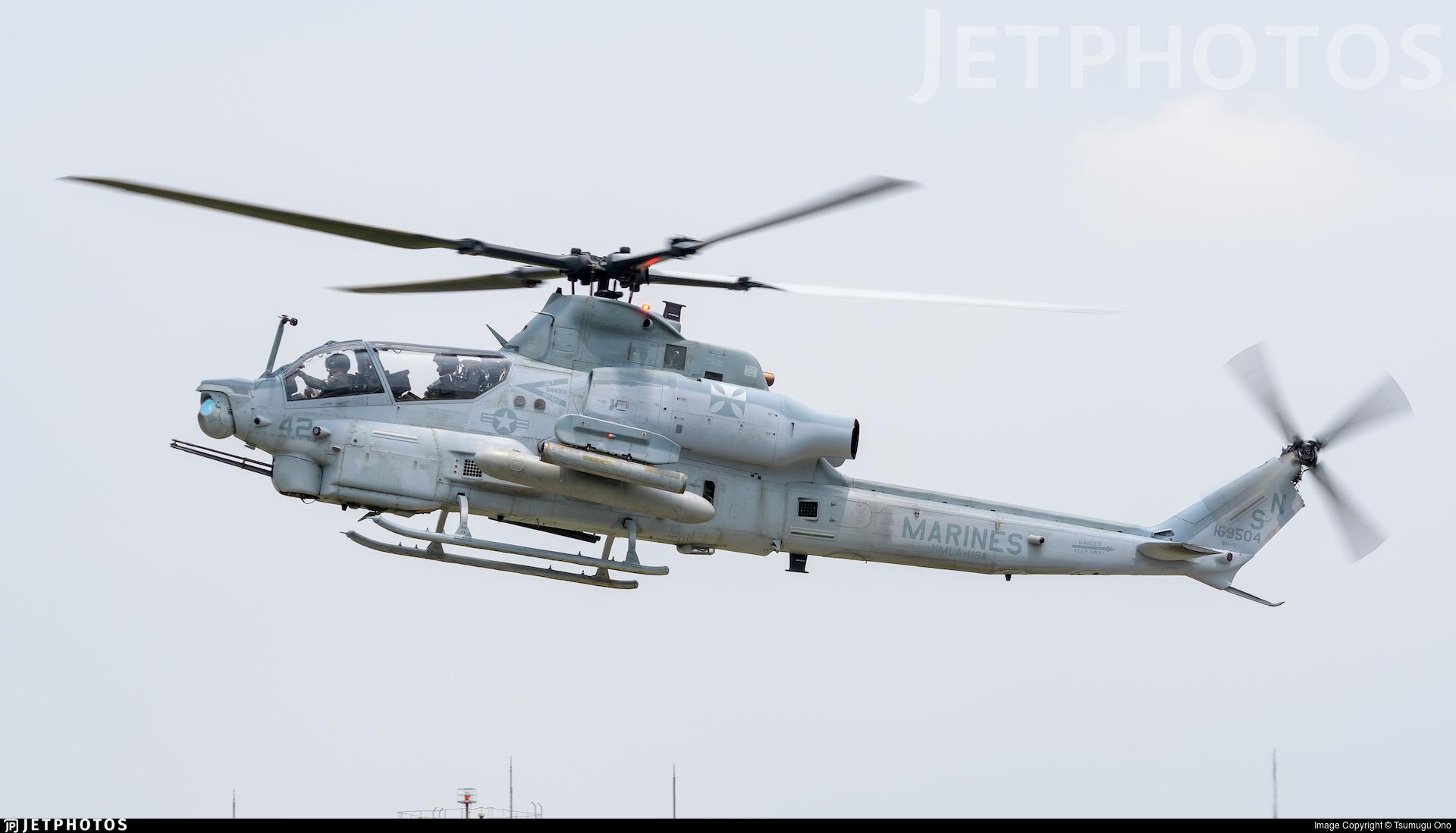 169504 - Bell AH-1Z Viper - United States - US Marine Corps (USMC)