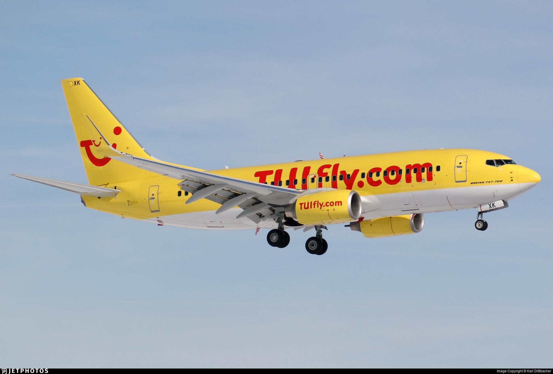 D-AHXK - Boeing 737-7K5 - TUIfly