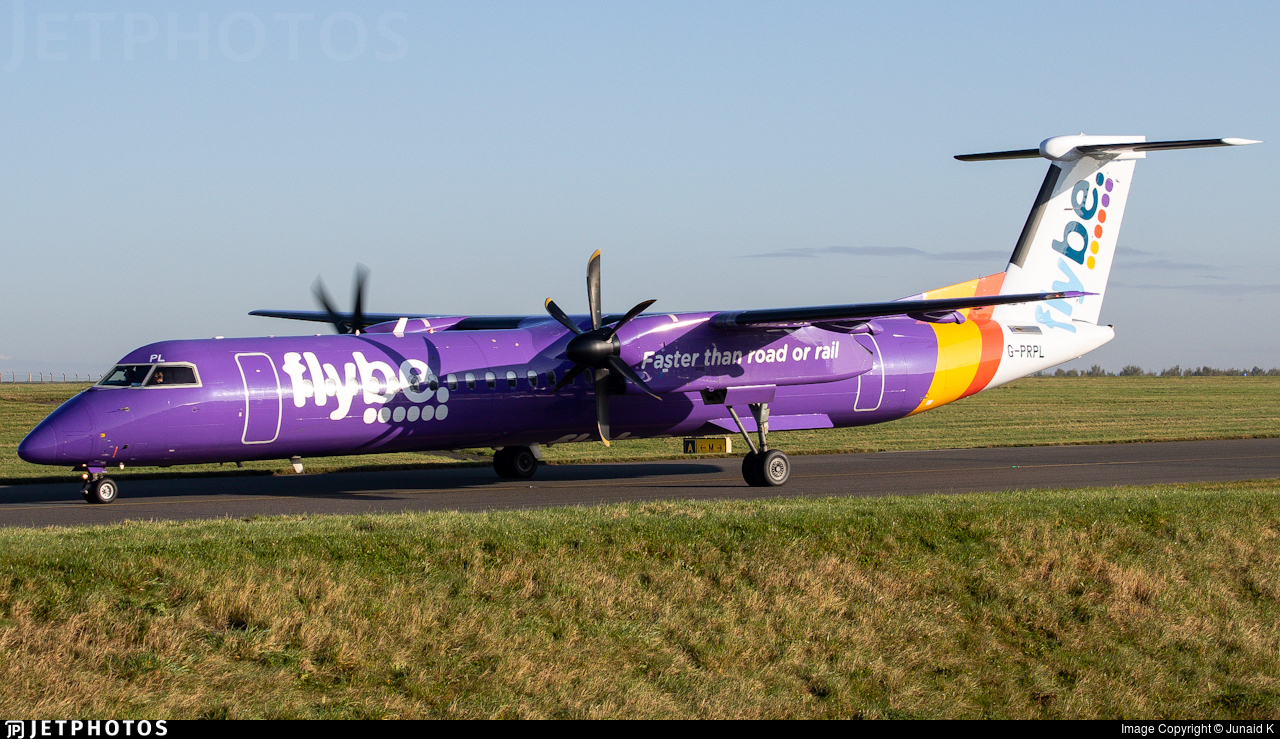 G-PRPL - Bombardier Dash 8-Q402 - Flybe