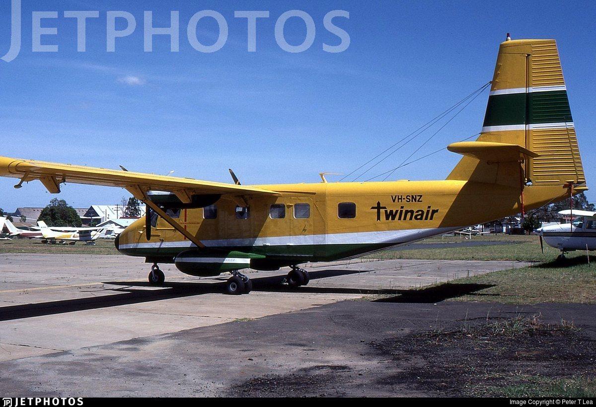 VH-SNZ - GAF N22C Nomad - Twinair Gold Goast