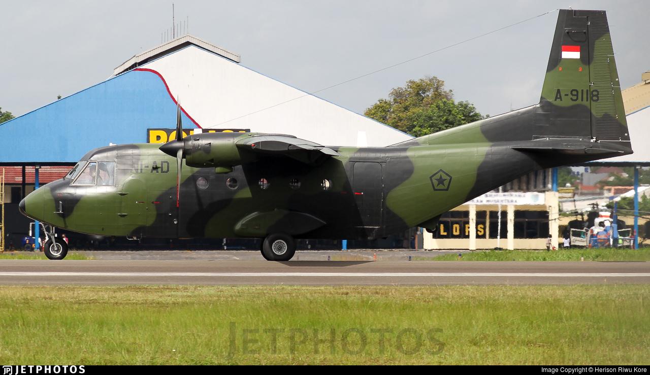 A-9118 - IPTN NC212M-200 Aviocar - Indonesia - Army