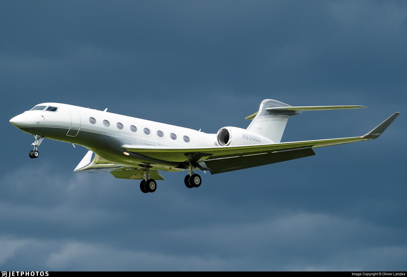 N650GU - Gulfstream G650 - Private