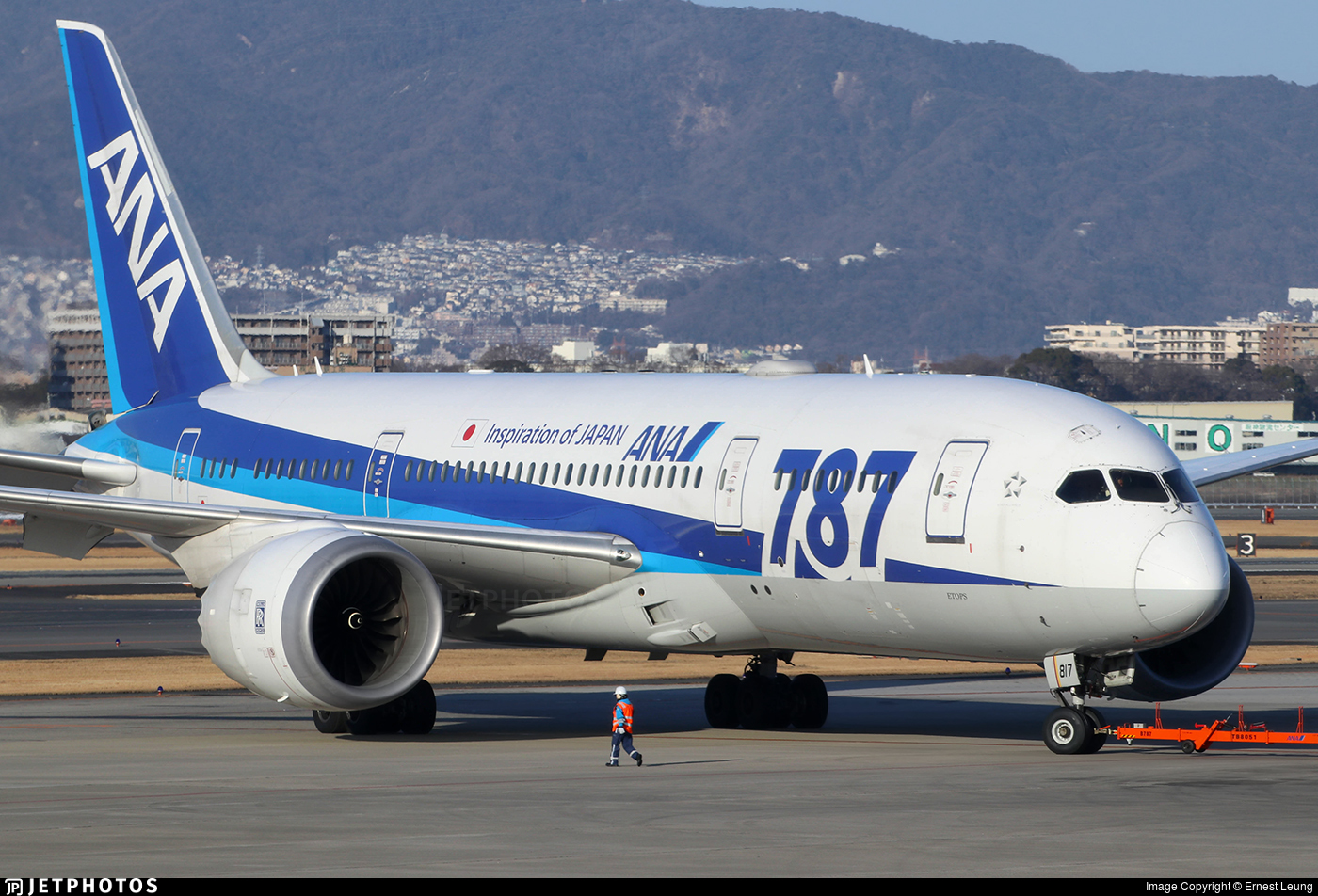 JA817A - Boeing 787-8 Dreamliner - All Nippon Airways (ANA)