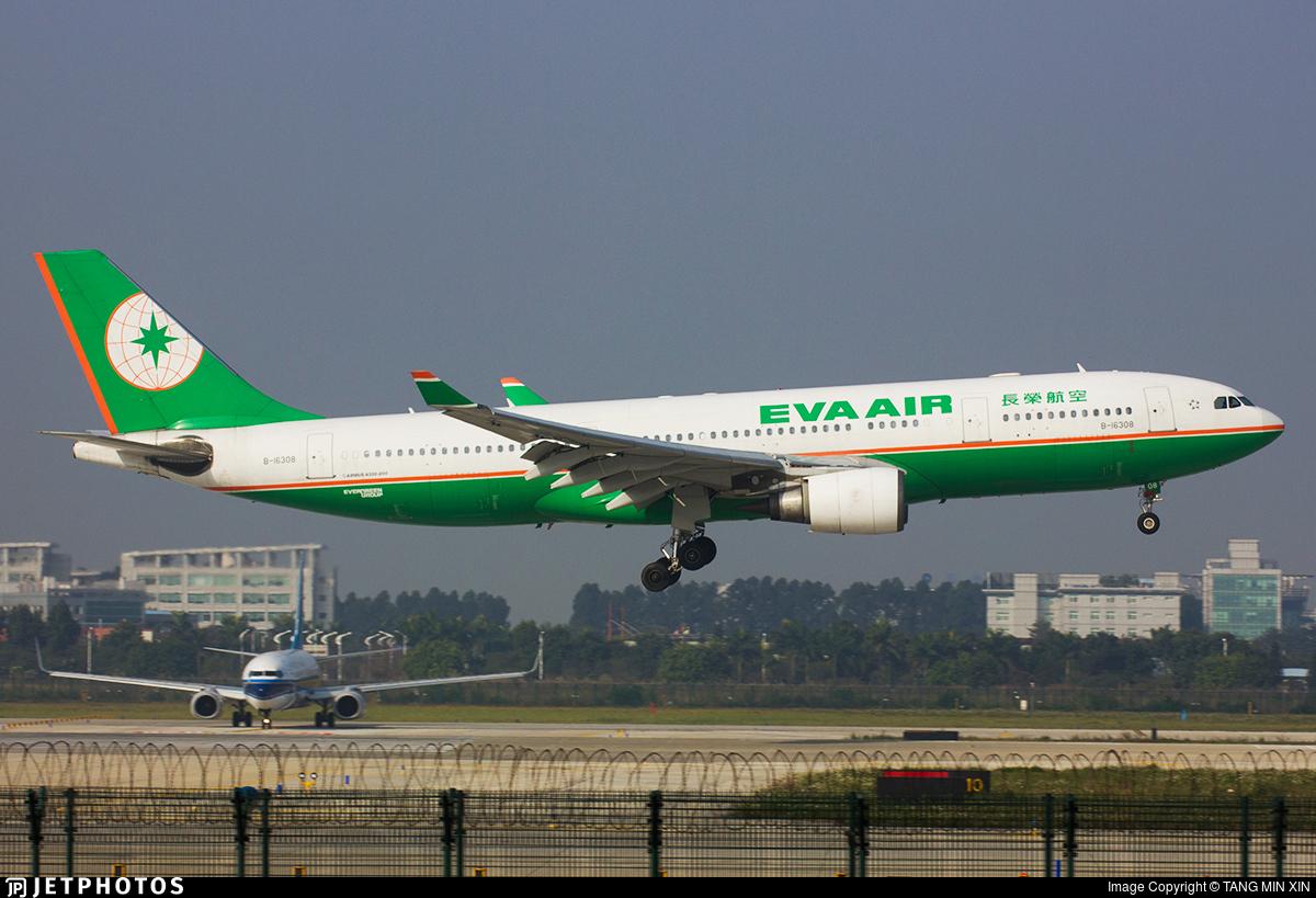 B-16308 - Airbus A330-203 - Eva Air