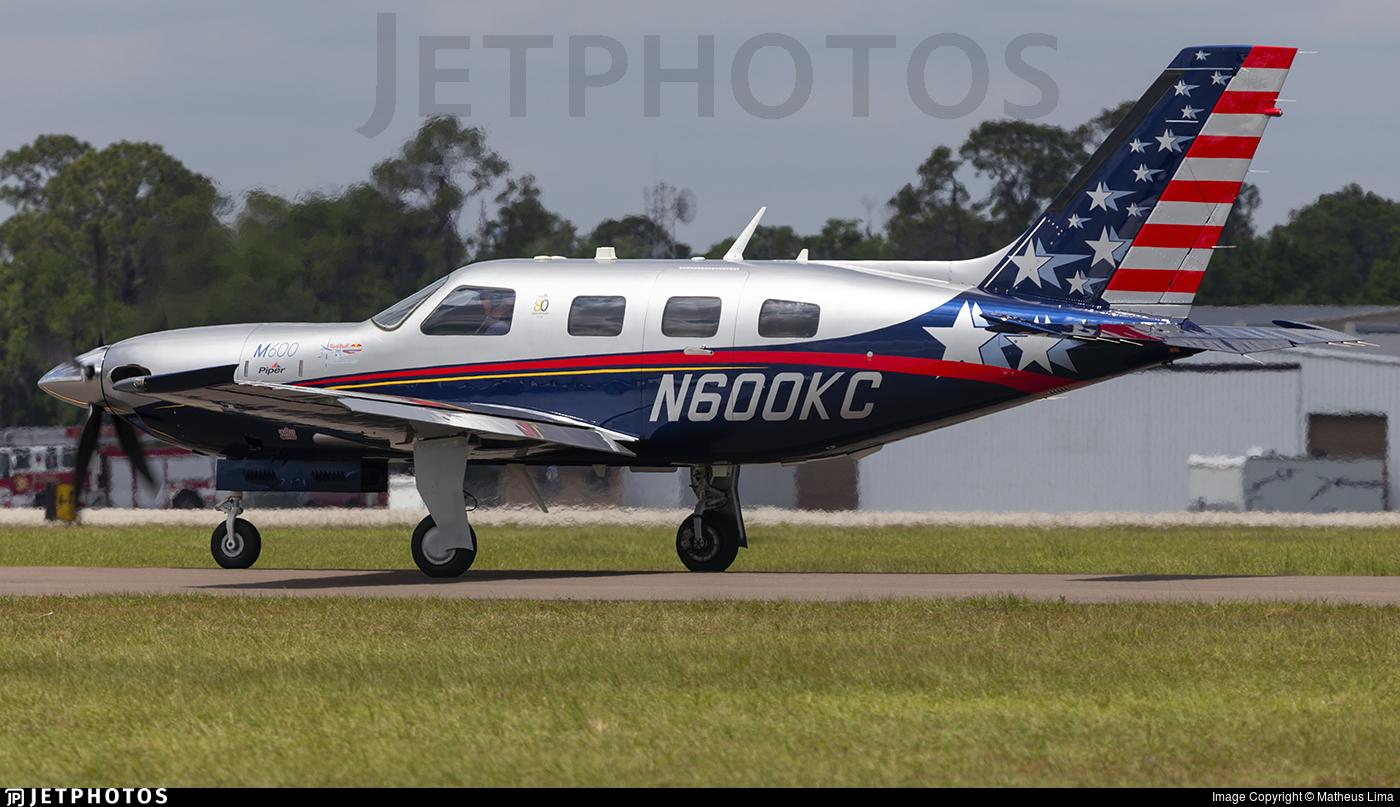 N600KC - Piper PA-46-M600 - Private