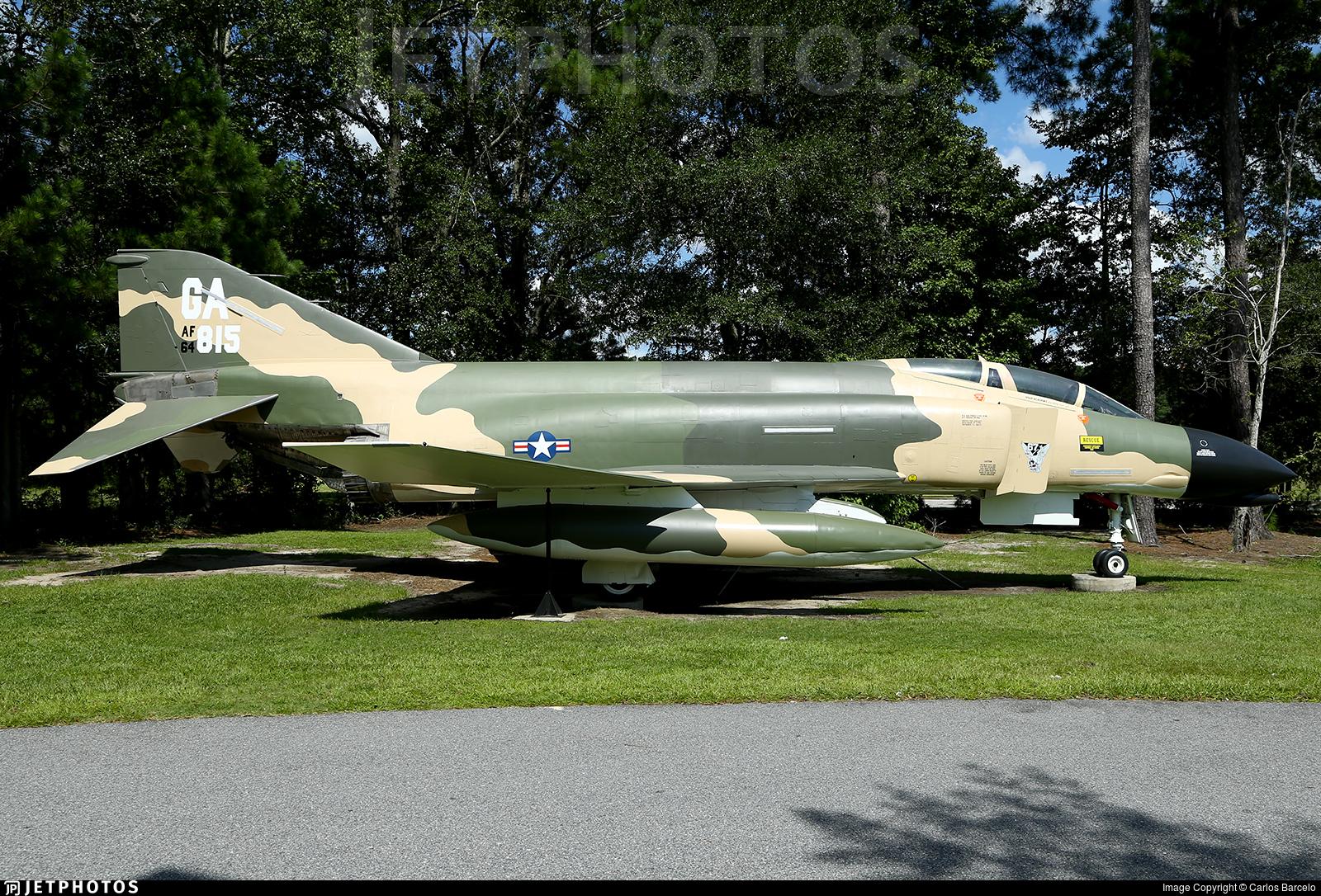 64-0815 - McDonnell Douglas F-4C Phantom II - United States - US Air Force (USAF)