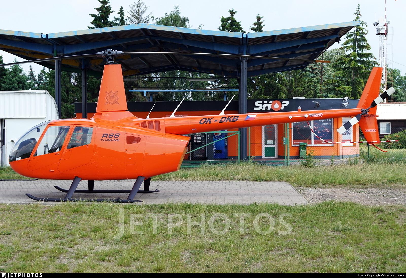 OK-DKB - Robinson R66 Turbine - LPS - Letecké Práce a Služby