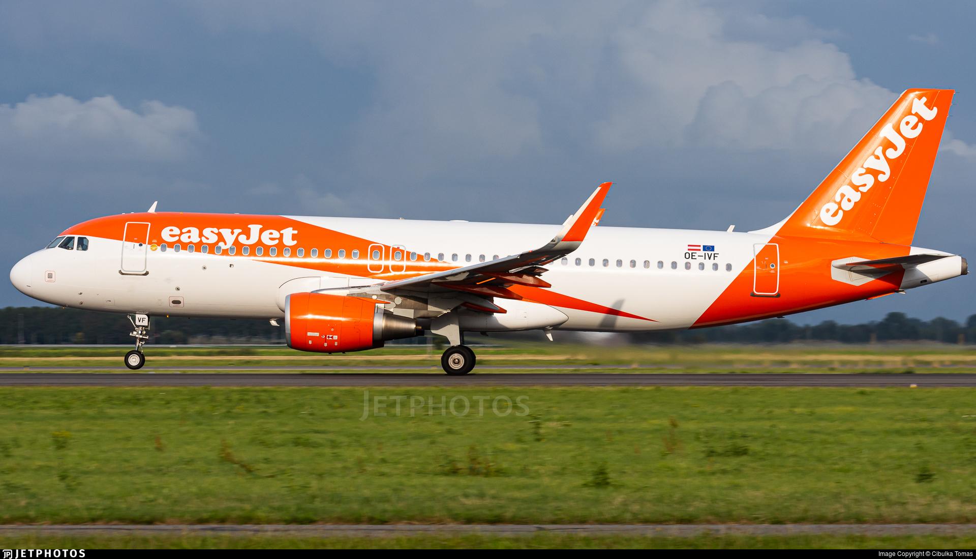 OE-IVF - Airbus A320-214 - easyJet Europe