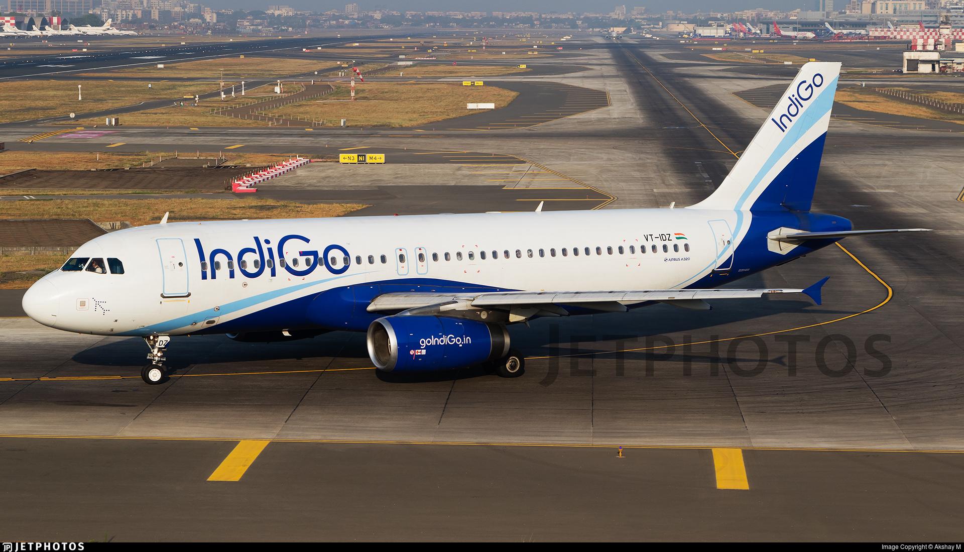 VT-IDZ - Airbus A320-232 - IndiGo Airlines