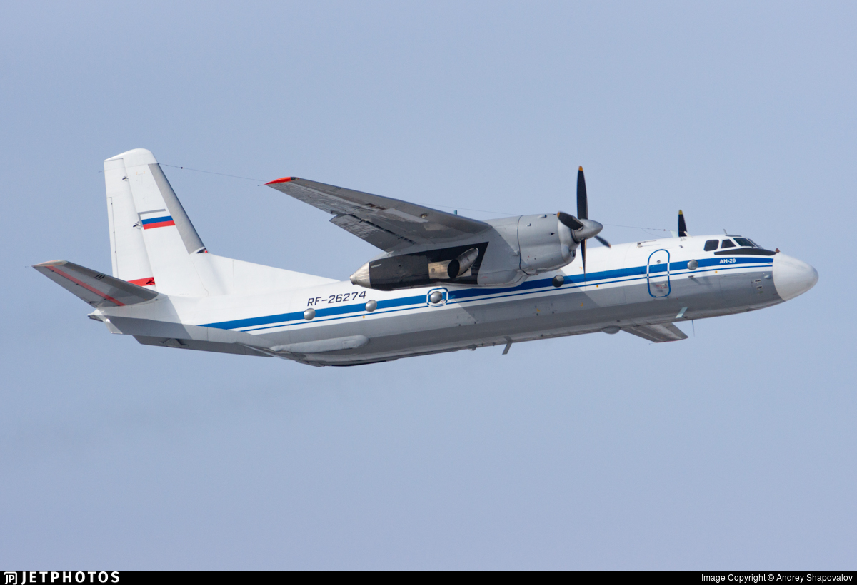 RF-26274 - Antonov An-26 - Russia - Federal Border Guards Aviation Command
